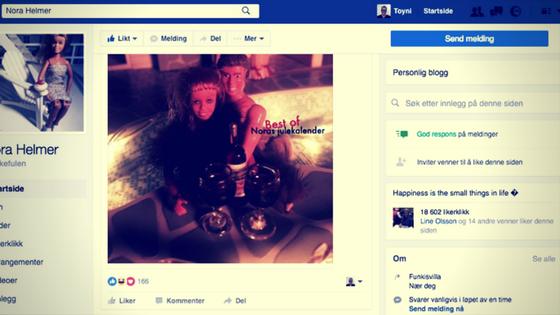 Nora Helmer på Facebook