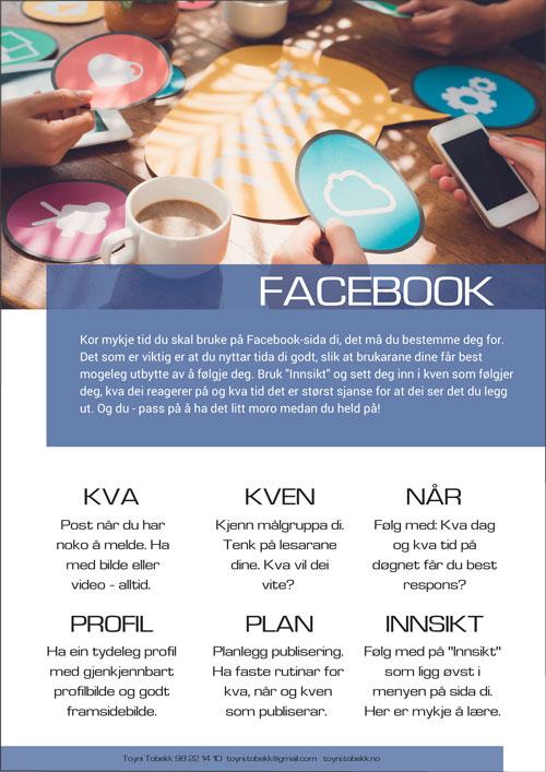 Facebook-liste
